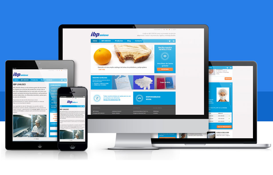 Adaptar página web al móvil